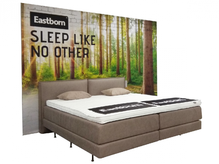 Boxspringbett Aktion EASTBORN mit gratis Topper