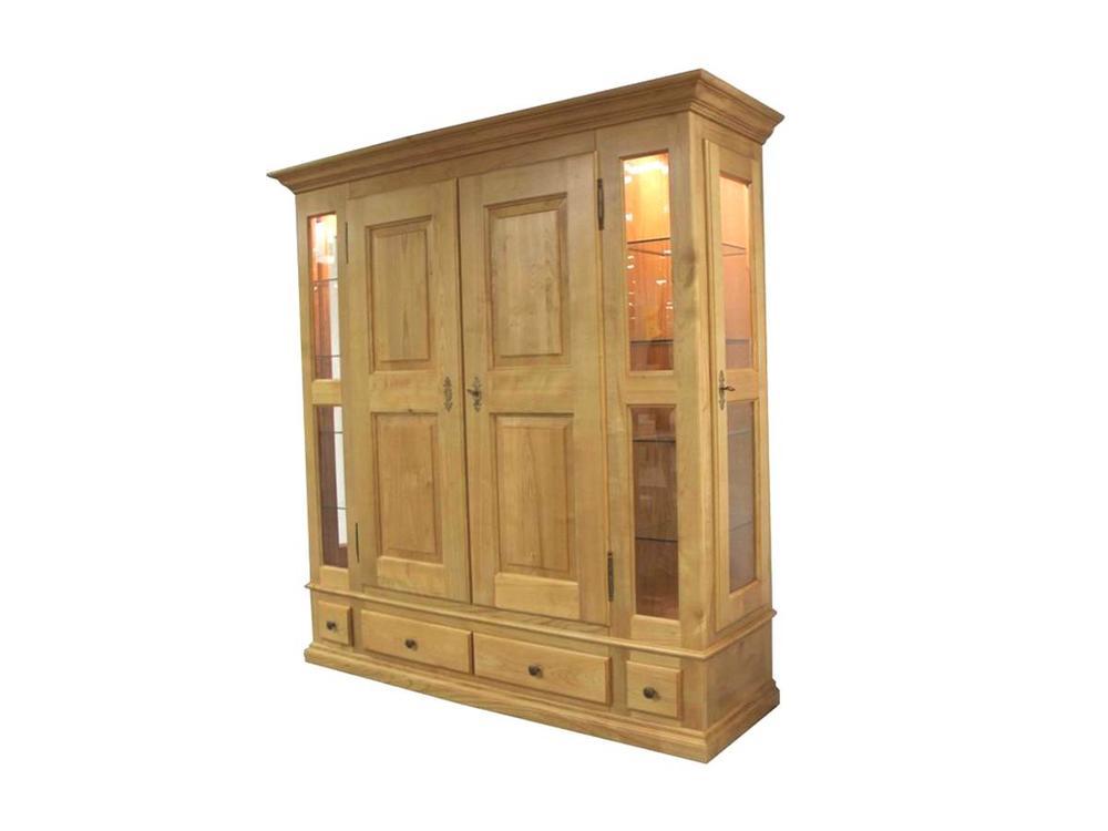 hallenschrank 2 t rig kirschbaum massiv m bel waeber webshop. Black Bedroom Furniture Sets. Home Design Ideas