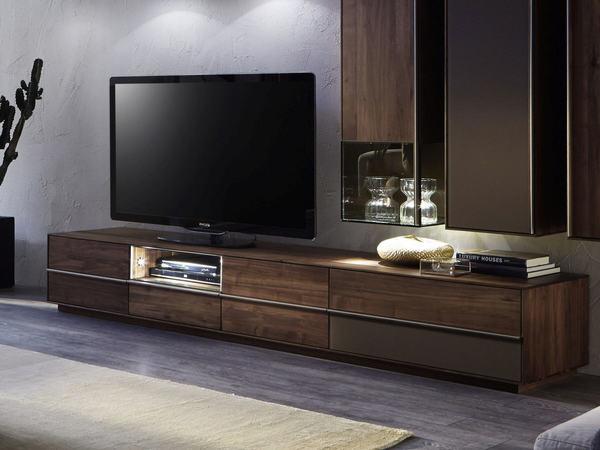 sideboard lowboard saluto in asteiche massiv oder nussbaum massiv m bel waeber webshop. Black Bedroom Furniture Sets. Home Design Ideas