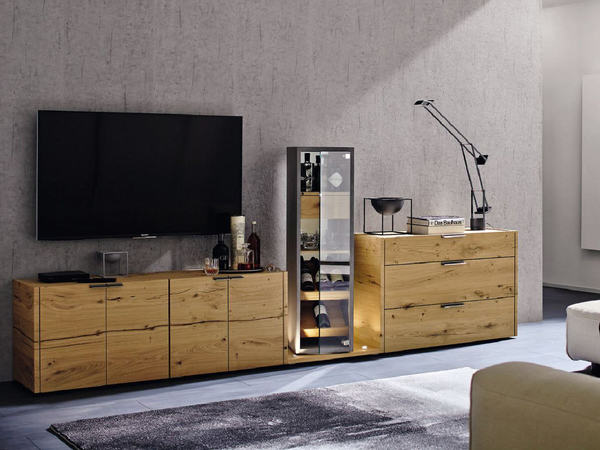 wohnwand h lsta fena mit massiv holz oder lack weiss m bel waeber webshop. Black Bedroom Furniture Sets. Home Design Ideas