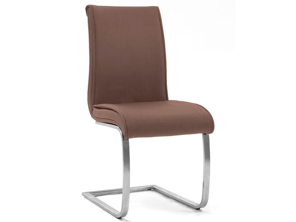 stuhl freischwinger in leder oder kunstleder m bel waeber webshop. Black Bedroom Furniture Sets. Home Design Ideas