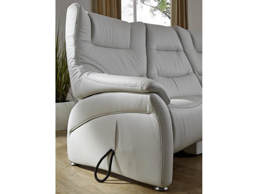 trapezsofa aarhus mit relaxfunktion in leder oder stoff. Black Bedroom Furniture Sets. Home Design Ideas