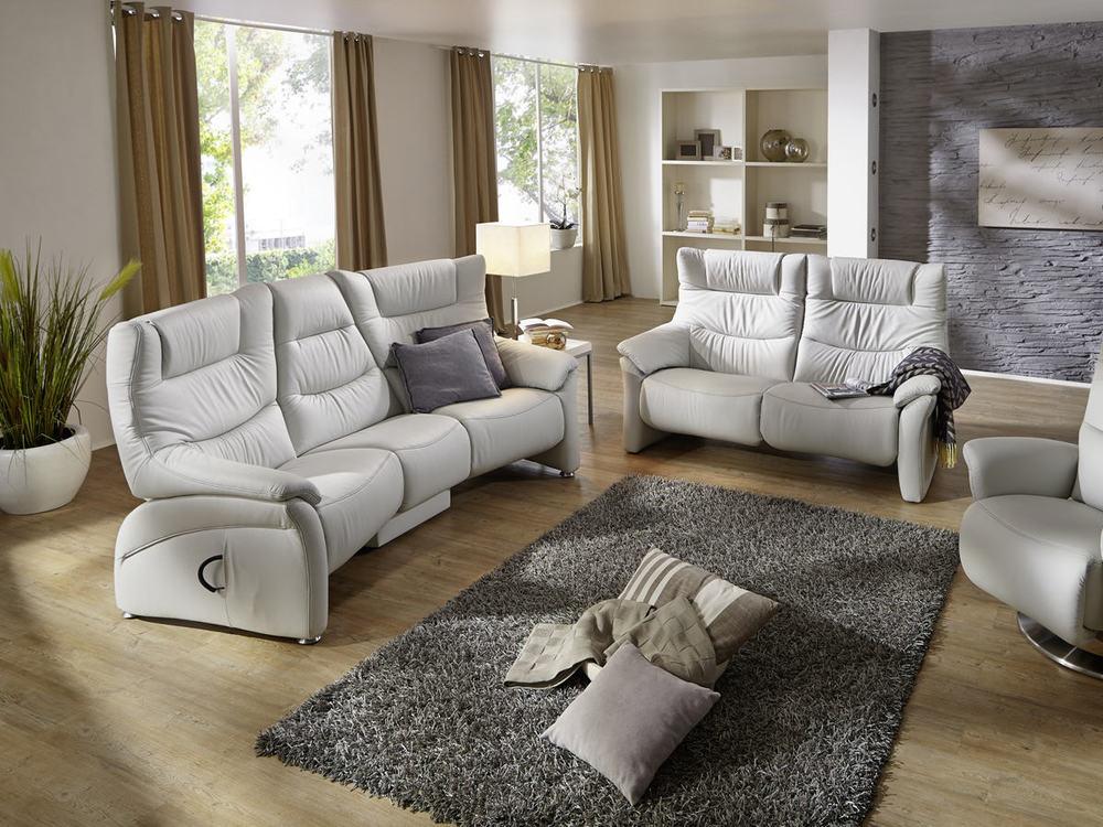 trapezsofa aarhus mit relaxfunktion in leder oder stoff m bel waeber webshop. Black Bedroom Furniture Sets. Home Design Ideas