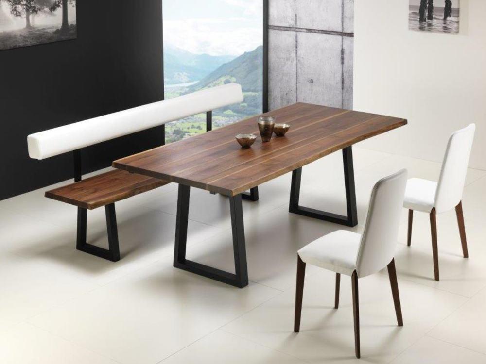 esstisch arogno aus massivholz mit kufen m bel waeber webshop. Black Bedroom Furniture Sets. Home Design Ideas