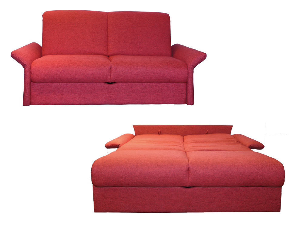 bettsofa bristen in stoff rot m bel waeber webshop. Black Bedroom Furniture Sets. Home Design Ideas