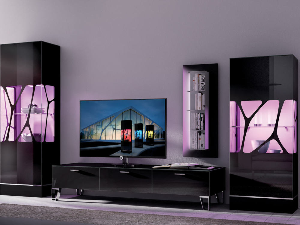 wohnwand leonardo living cube m bel waeber webshop. Black Bedroom Furniture Sets. Home Design Ideas