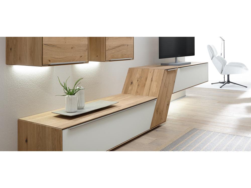 wohnwand ramos in astbuche oder asteiche massiv m bel waeber webshop. Black Bedroom Furniture Sets. Home Design Ideas