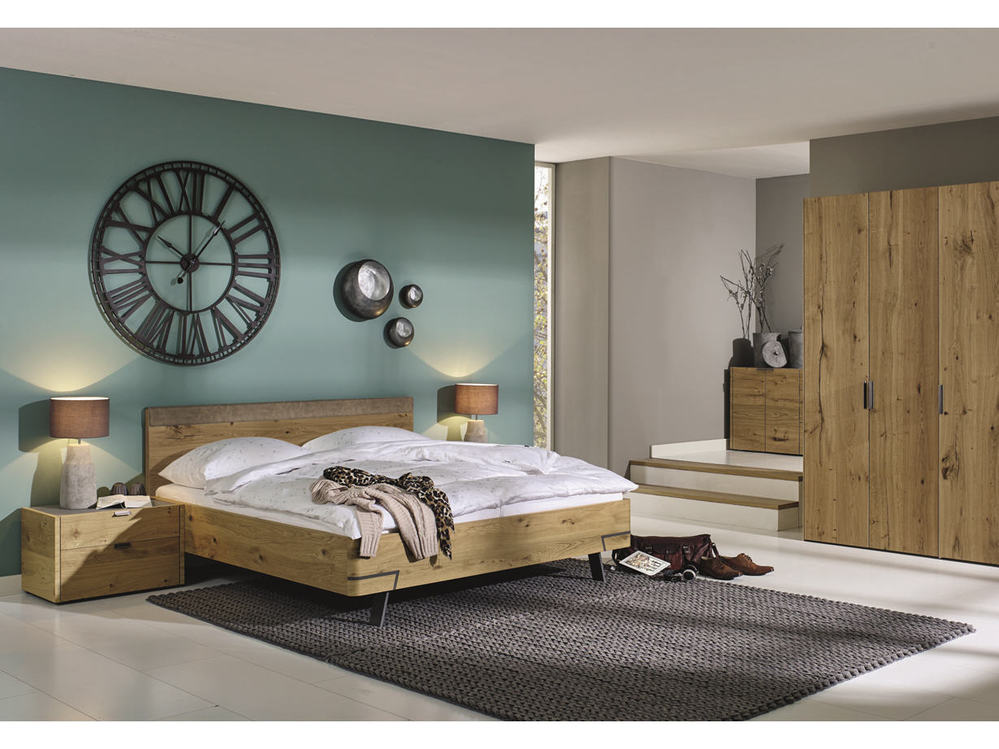 schlafzimmer h lsta fena in balkeneiche oder lack reinweiss m bel waeber webshop. Black Bedroom Furniture Sets. Home Design Ideas