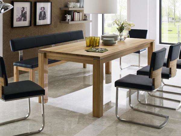 esstisch geoma mit auszug oder fix m bel waeber webshop. Black Bedroom Furniture Sets. Home Design Ideas