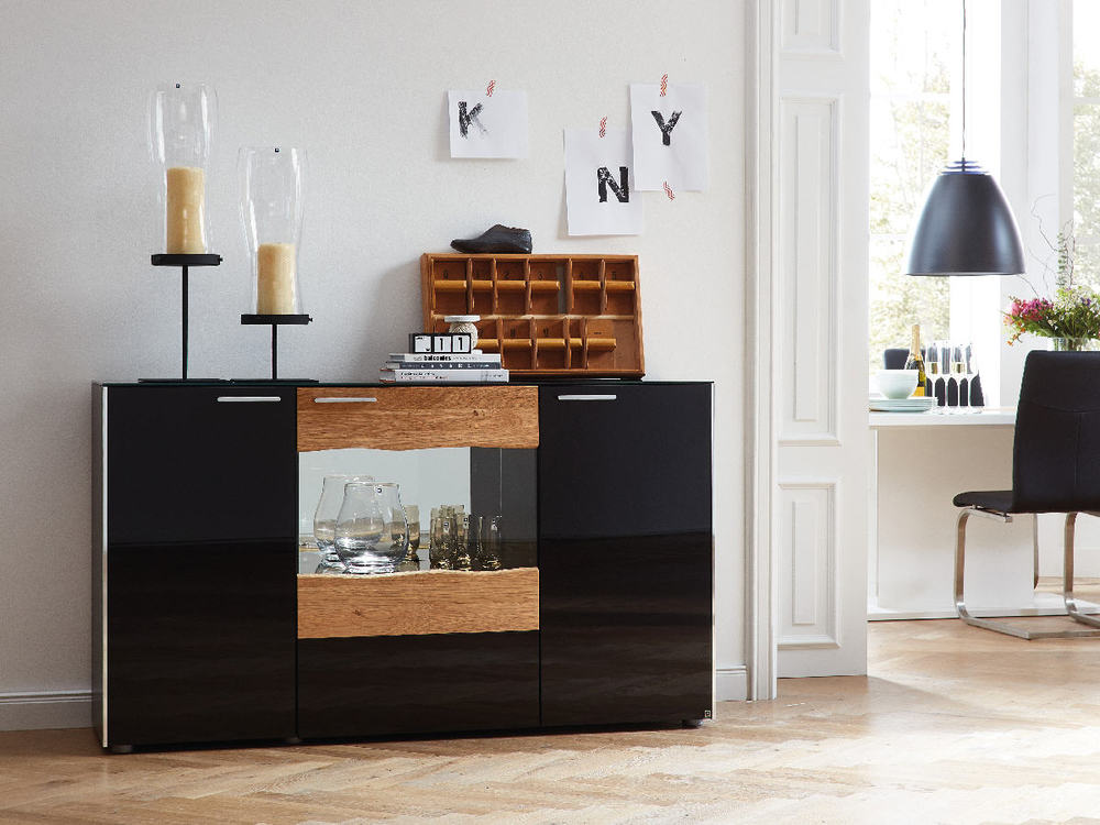 wohnwand leonardo elements mit baumkante m bel waeber. Black Bedroom Furniture Sets. Home Design Ideas
