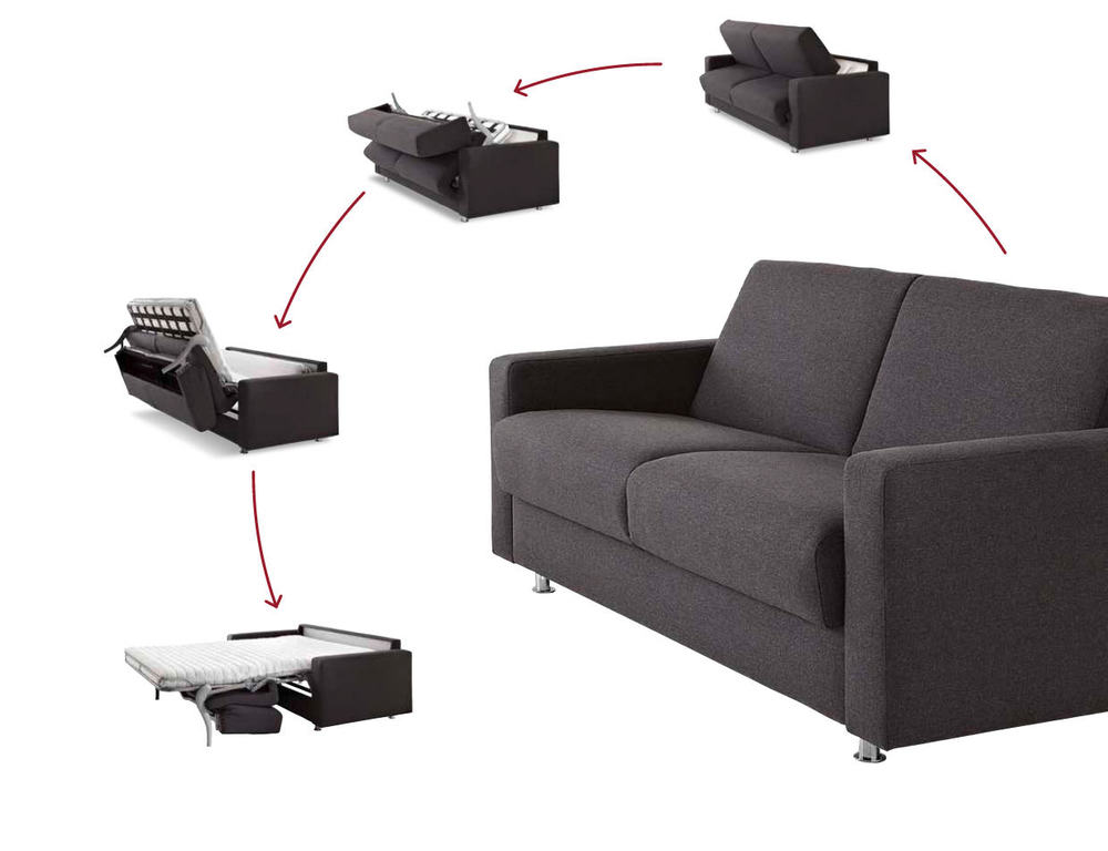 bettsofa messina in stoff oder leder zum aufklappen m bel waeber webshop. Black Bedroom Furniture Sets. Home Design Ideas