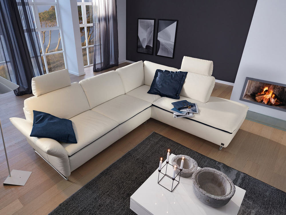 sofa odessa mit airogel optional mit liegefl che m bel waeber webshop. Black Bedroom Furniture Sets. Home Design Ideas