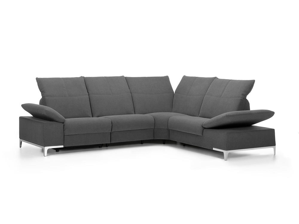 ecksofa celerina in stoff mit relaxfunktion m bel waeber. Black Bedroom Furniture Sets. Home Design Ideas