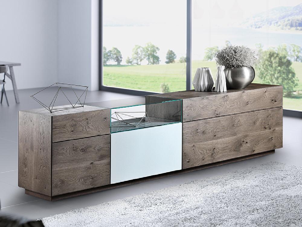 wohnwand sona mit muotathaler altholz swiss made m bel waeber webshop. Black Bedroom Furniture Sets. Home Design Ideas