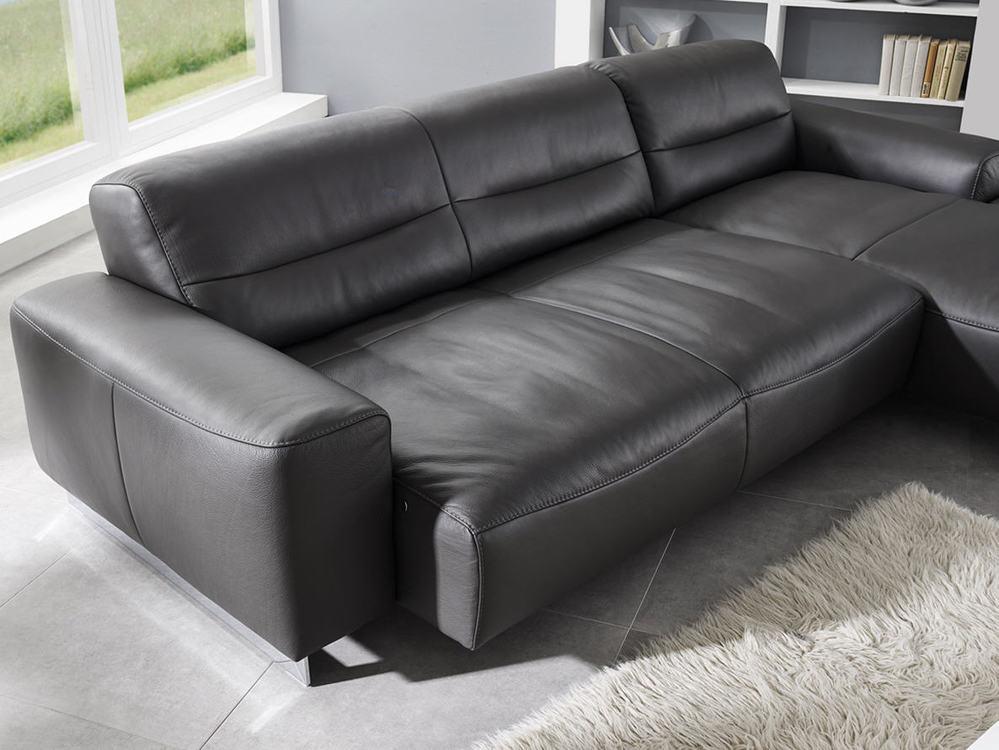 Sofa william mit oder ohne sitzvorzug m bel waeber webshop for Schreibtisch ausfahrbar