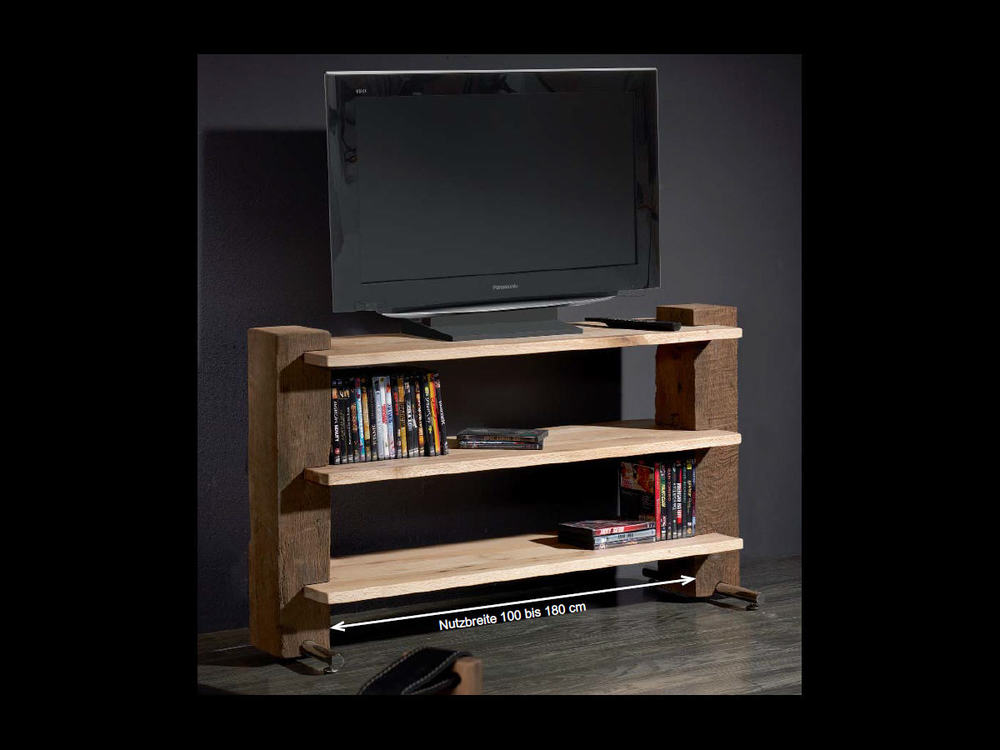 tv regal sumpfeiche m bel waeber webshop. Black Bedroom Furniture Sets. Home Design Ideas