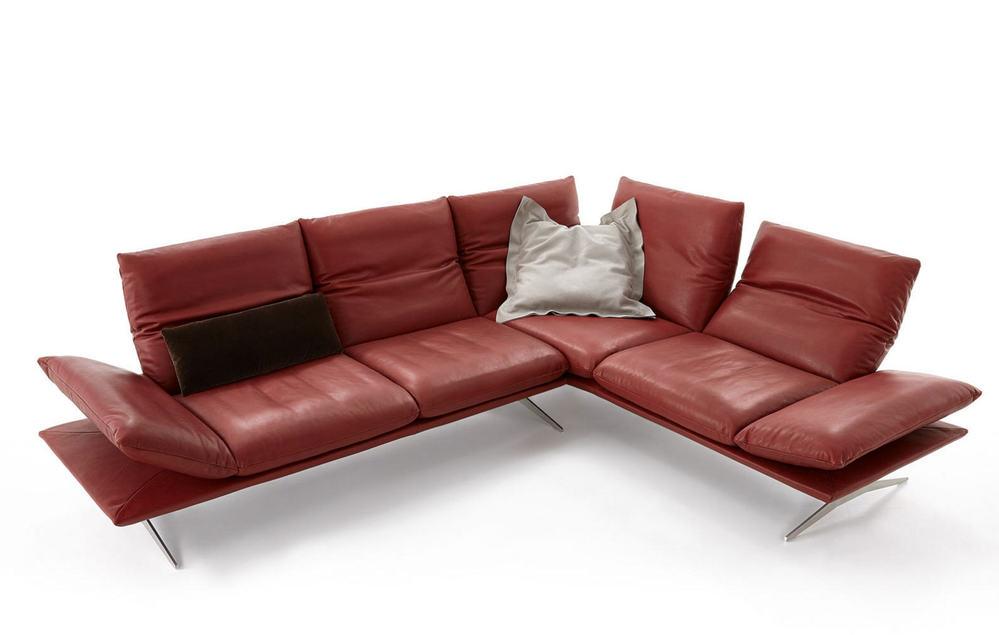sofa carola mit verstellbaren r ckenteilen m bel waeber webshop. Black Bedroom Furniture Sets. Home Design Ideas