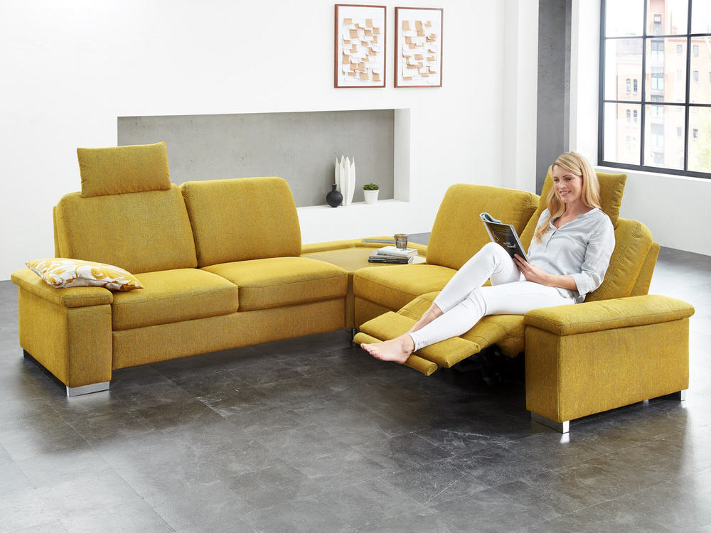 Sofa Baile In Stoff Oder Leder Optional Mit Relaxfunktion M Bel Waeber Webshop