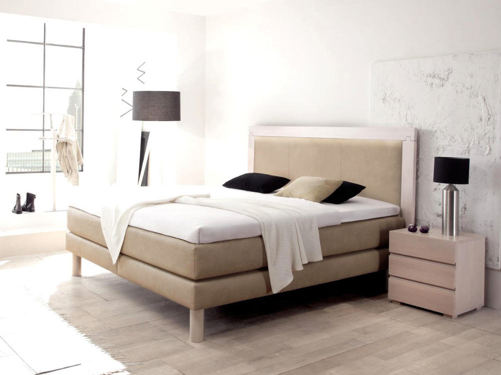 modern boxspringbett m bel waeber webshop. Black Bedroom Furniture Sets. Home Design Ideas