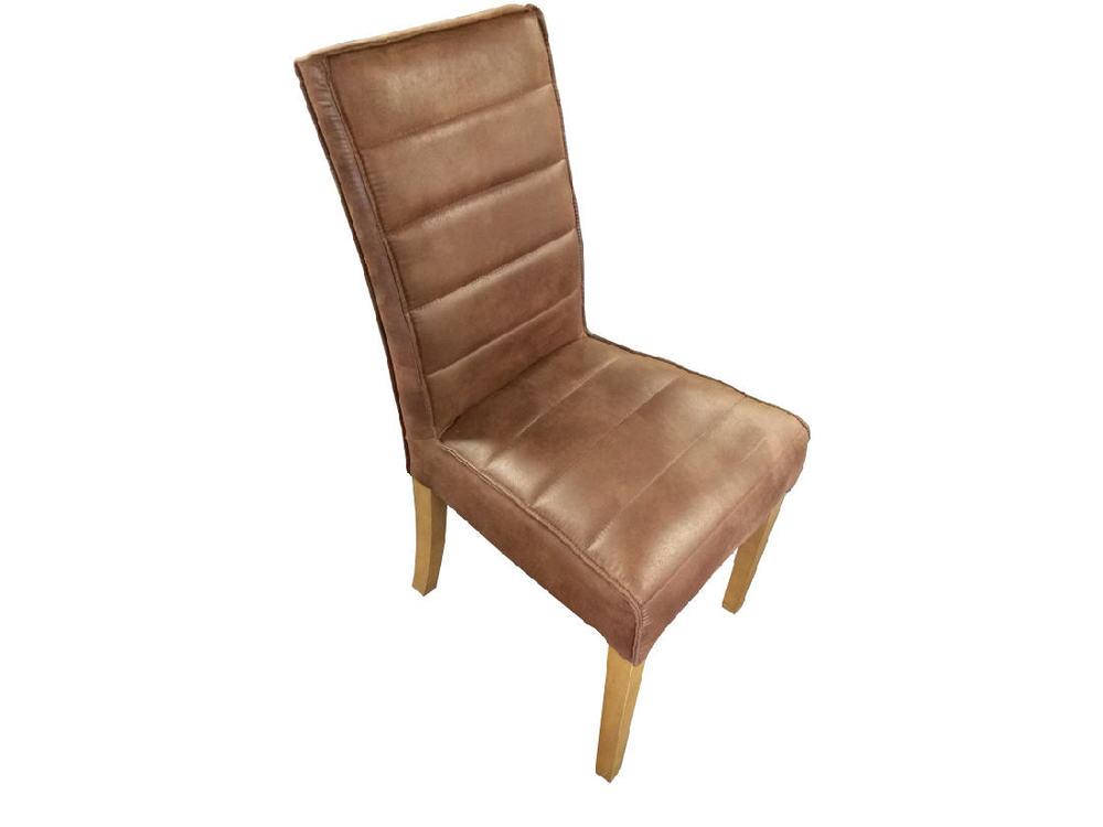 polsterstuhl pigro in leder pellini recyclet vintage braun m bel waeber webshop. Black Bedroom Furniture Sets. Home Design Ideas