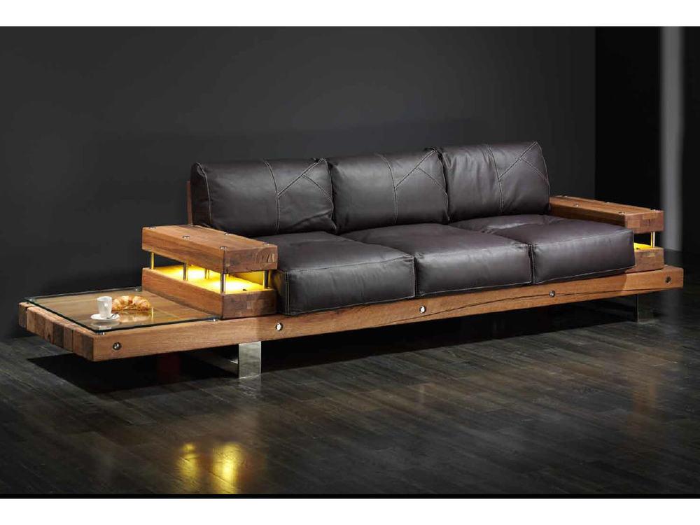 sofa s b nkli in leder und sumpfeiche m bel waeber webshop. Black Bedroom Furniture Sets. Home Design Ideas