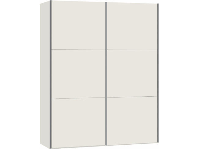 kompakt schiebet ren schrank front weiss m bel waeber webshop. Black Bedroom Furniture Sets. Home Design Ideas