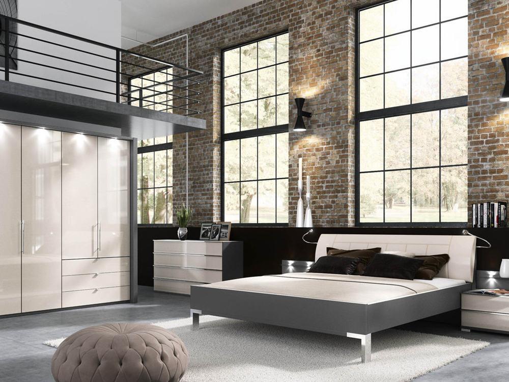 schlafzimmer loft m bel waeber webshop. Black Bedroom Furniture Sets. Home Design Ideas